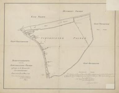 Polder Achthoven, gemeente Leiderdorp en Koudekerk a/d Rijn.