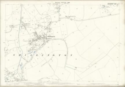 Hertfordshire VI.7 (includes: Pirton; Shillington) - 25 Inch Map