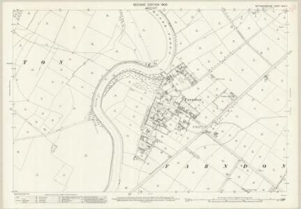 Nottinghamshire XXXV.6 (includes: Farndon; Rolleston) - 25 Inch Map
