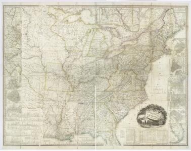 United States of America, 1834 / by H.S. Tanner; engraved by H.S. Tanner, assisted by E.B. Dawson, W. Allen & J. Knight.
