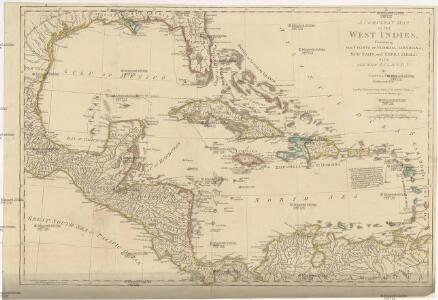 A COMPLEAT MAP OF THE WEST INDIES
