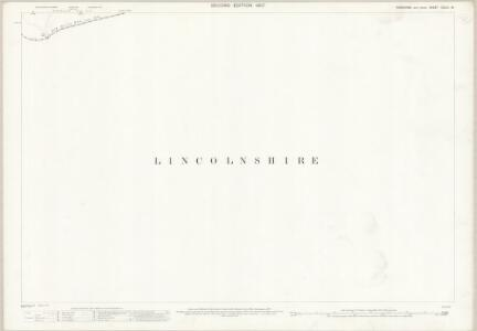 Yorkshire CCLIII.16 (includes: Burton Upon Stather; Garthorpe; Haldenby; Luddington) - 25 Inch Map