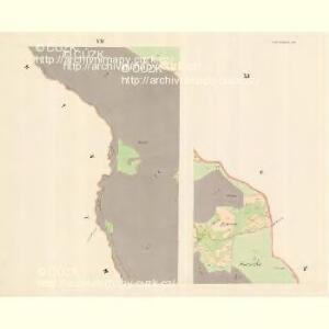 Gross Bistrzitz (Welky Bistrzice) - m3258-1-006 - Kaiserpflichtexemplar der Landkarten des stabilen Katasters