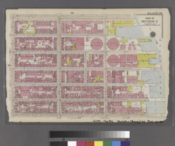 [Plate 27: Bounded by E. 14th Street, East River, E. 8th Street, and Avenue B.]