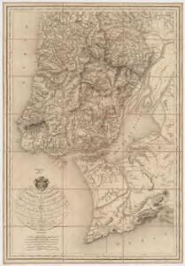 Carte chorographique des environs de Lisbonne