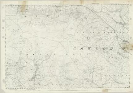 Yorkshire 186 - OS Six-Inch Map