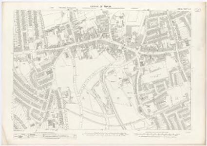 London X.68 - OS London Town Plan