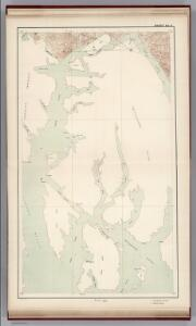 Sheet No. 5.  (Behm Canal, Revillagigedo Island, Clarence Strait, Nichol's Passage, Revillagigedo Channel, Cleveland Peninsula).