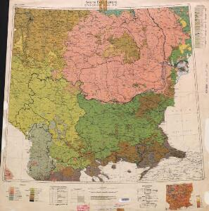 Ethnographical map (Eastern Europe). South East Europe 1918