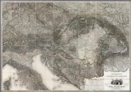 Composite 20 sheets: Karte Des Oesterreichischen Kaiserstaates.