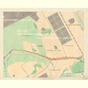 Göding (Hodonin) - m0741-1-024 - Kaiserpflichtexemplar der Landkarten des stabilen Katasters