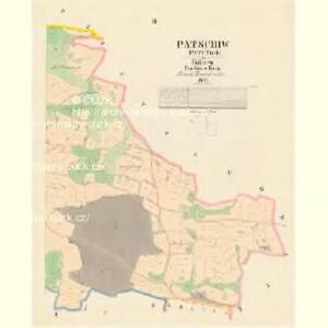 Patschiw (Patčjwo) - c5617-1-003 - Kaiserpflichtexemplar der Landkarten des stabilen Katasters