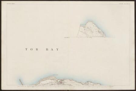 Devon CXXII.15 (inset CXXII.14) (includes: Brixham; Churston Ferrers) - 25 Inch Map