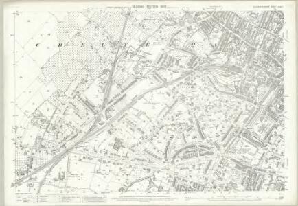Gloucestershire XXVI.7 (includes: Cheltenham) - 25 Inch Map
