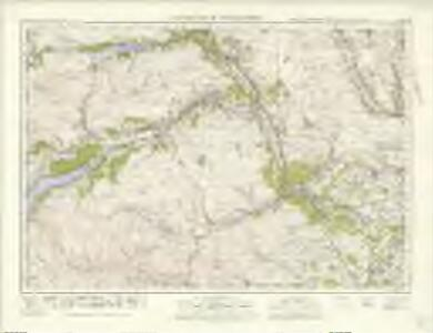 Dunkeld  & Pitlochry (56) - OS One-Inch map