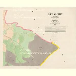 Straschin - c7389-1-004 - Kaiserpflichtexemplar der Landkarten des stabilen Katasters