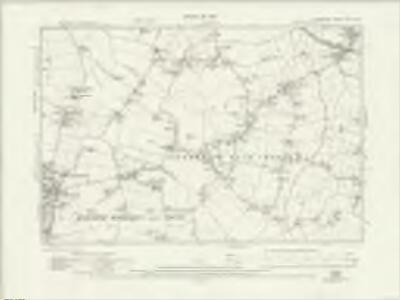 Lancashire CIX.NW - OS Six-Inch Map