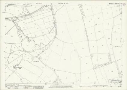 Berkshire V.13 (includes: Aston Bampton; Hinton Waldrist; Longworth) - 25 Inch Map