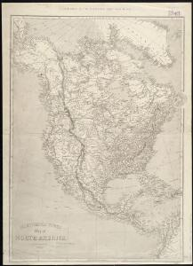 lustrated Times map of North America