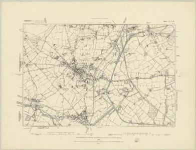 Staffordshire XLV.SW - OS Six-Inch Map