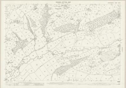 Cardiganshire XXVI.5 (includes: Betws Leucu; Gartheli; Nancwnlle) - 25 Inch Map