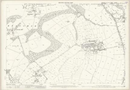 Yorkshire CCXCVIII.7 (includes: Dronfield; Sheffield) - 25 Inch Map