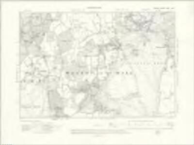 Surrey XXVI.NW - OS Six-Inch Map