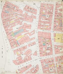Insurance Plan of Sheffield (1888): sheet 5