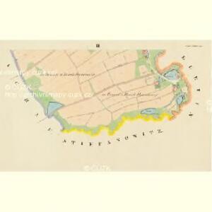 Unter Milletin - c1343-1-002 - Kaiserpflichtexemplar der Landkarten des stabilen Katasters
