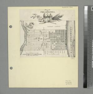 Plan of Philadelphia / stentr. af Müller.