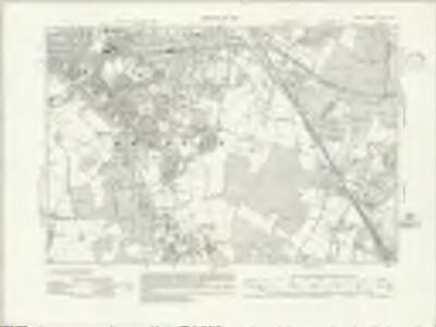 Kent XVI.NW - OS Six-Inch Map
