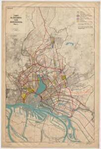 Entwurf des generalplanes für die stadtweiterung. Blatt 1