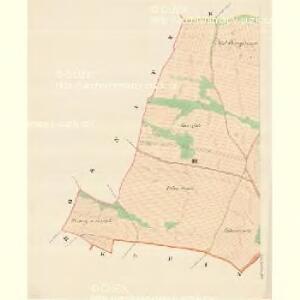 Gross Deschau - m3335-1-003 - Kaiserpflichtexemplar der Landkarten des stabilen Katasters