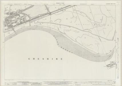 Lancashire CXV.10 (includes: Cuerdley; Halton; Norton; Widnes) - 25 Inch Map