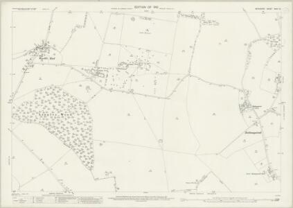 Berkshire XXVII.10 (includes: Beedon; Chieveley; Hampstead Norris) - 25 Inch Map