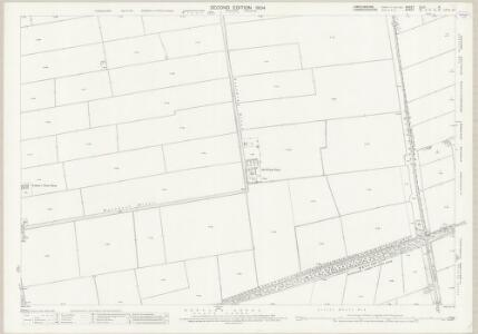 Lincolnshire CLIV.9 (includes: Sutton St Edmund; Thorney; Wisbech St Mary) - 25 Inch Map