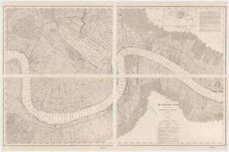 Survey of the Mississippi River : made under the direction of the Mississippi River Commission : chart no. 76, projected from a trigonometrical survey made by the U.S. Coast survey in 1874