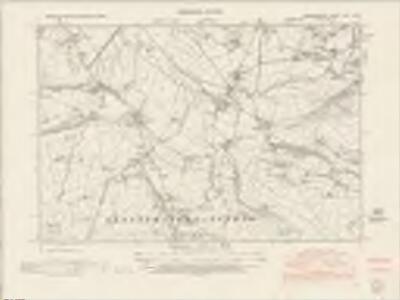 Cardiganshire XXV.SE - OS Six-Inch Map