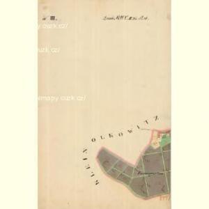 Joslowitz - m1044-1-010 - Kaiserpflichtexemplar der Landkarten des stabilen Katasters