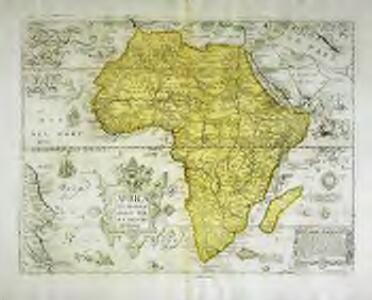 Africa ex magnæ orbis terræ descriptione