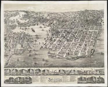 The city of St. John, New Brunswick