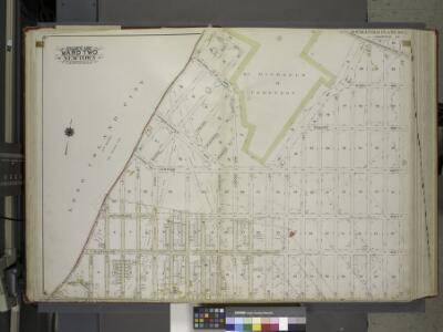 Queens, Vol. 2A, Double Page Plate No. 1; Part of Ward Two Newtown. [Map bounded by Duane St., Bowery Rd, 20th Ave., Wilson Ave.; Including 12th St., Astoria Ave., Mansfield Ave., 20th St., Jockson Ave.] / by and under the supervision of Hugo Ullitz.