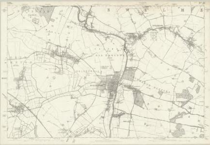 Berkshire XV - OS Six-Inch Map