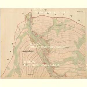 Schlagles - c7745-1-001 - Kaiserpflichtexemplar der Landkarten des stabilen Katasters