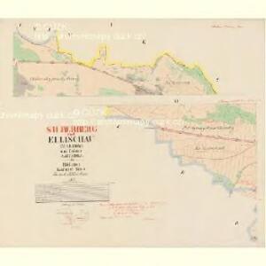 Ellischau (Malzow) - c4961-1-001 - Kaiserpflichtexemplar der Landkarten des stabilen Katasters