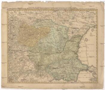Danubii fluminis (hic ab urbe Belgrado, per Mare Nigrum usq[ue] Constantinopolim defluentis exhibiti)
