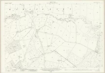 Durham XLI.3 (includes: Evenwood And Barony; Hamsterley) - 25 Inch Map
