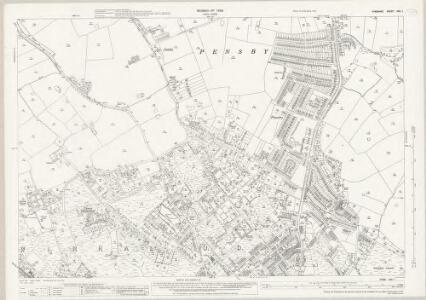 Cheshire XXII.1 (includes: Barnston; Heswall cum Oldfield; Irby; Pensby; Thurstaston) - 25 Inch Map