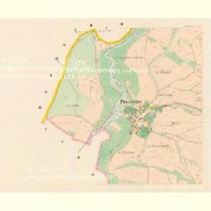 Przedenitz (Předenice) - c6165-1-002 - Kaiserpflichtexemplar der Landkarten des stabilen Katasters