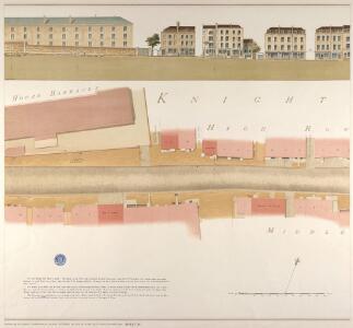 Knightsbridge showing the Horse Barracks Sheet 3-A